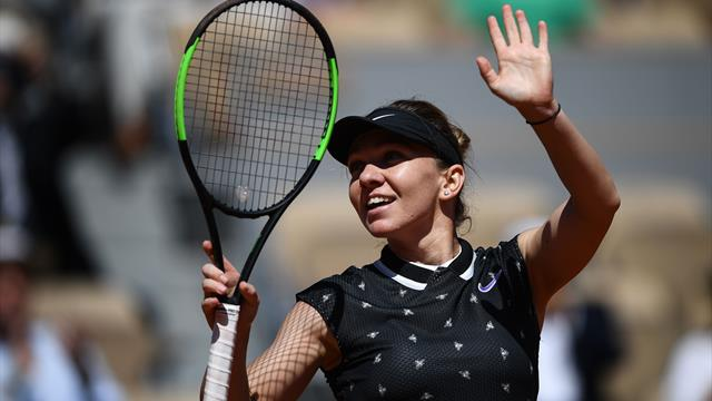 Women's Round-up: Halep breezes into fourth round with victory over Tsurenko