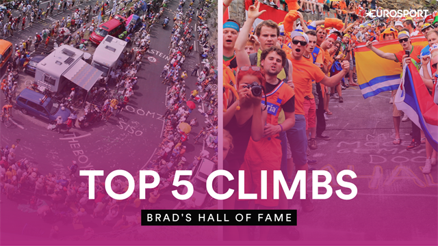 Brad's Hall of Fame - Bradley Wiggins picks his five favourite climbs in cycling