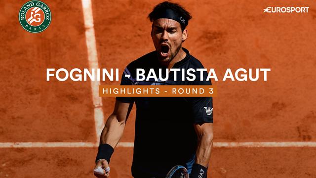 Fognini - Bautista Agut : Les temps forts