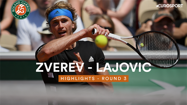 Roland-Garros: Zverev retrouve de la sérénité et passe au 3e tour