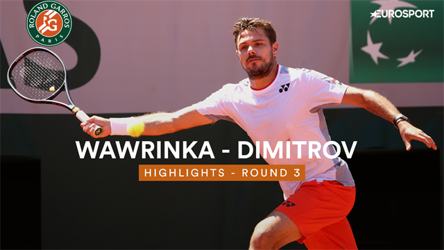 Plus solide dans les moments chauds, Wawrinka remporte un duel de cogneurs contre Dimitrov