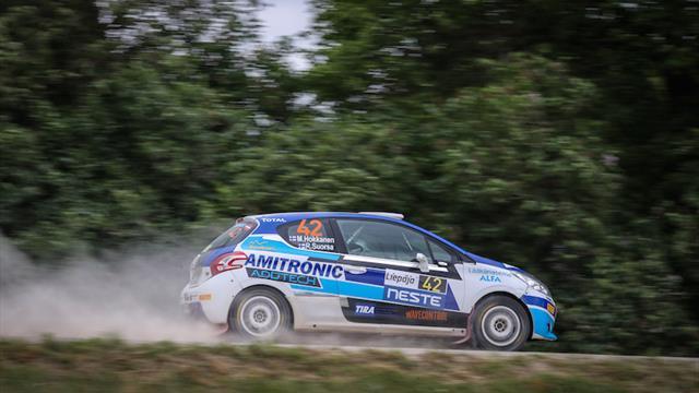 Pourquoi deux victoires en spéciale n'ont pas consolé Hokkanen en ERC3 Junior