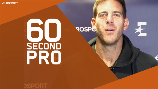 60 Second Pro: Del Potro's tips for a monster forehand
