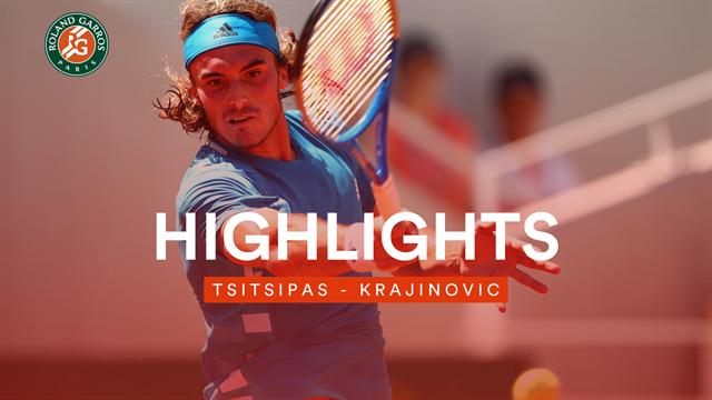 Viersatzsieg und Achtelfinal-Ticket: Die Highlights zum Tsitsipas-Sieg