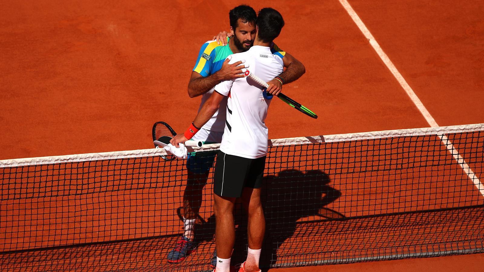 Djokovic è troppo forte: Caruso sconfitto con onore