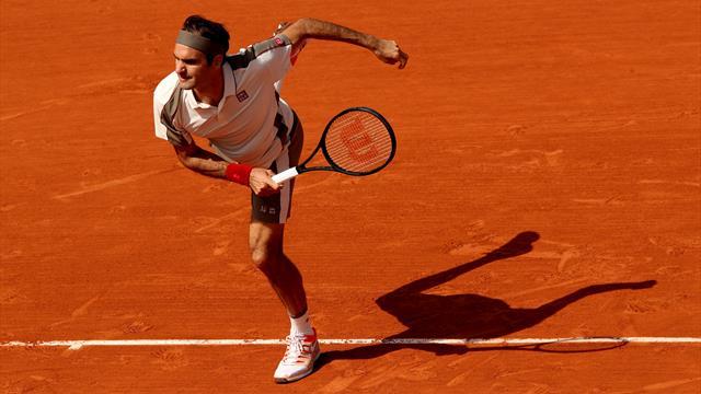Federer a 60 secondes pour vous expliquer... le service-volée sur terre