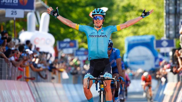 Carapaz survives GC battle in the mountains to all-but secure Giro title as Bilbao wins Stage 20