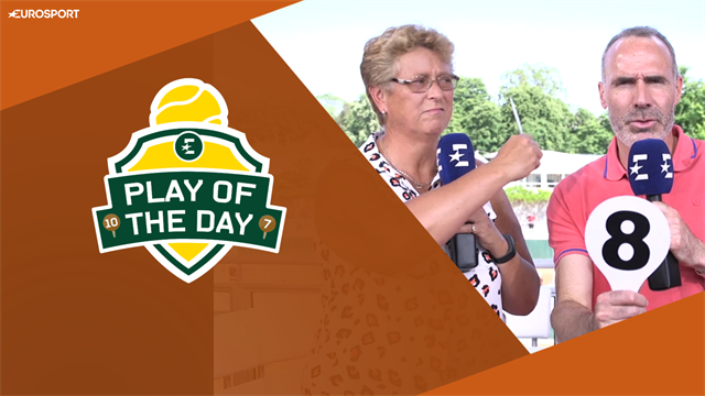 Play of the Day: 'Zero for hitting opponent in the face!'
