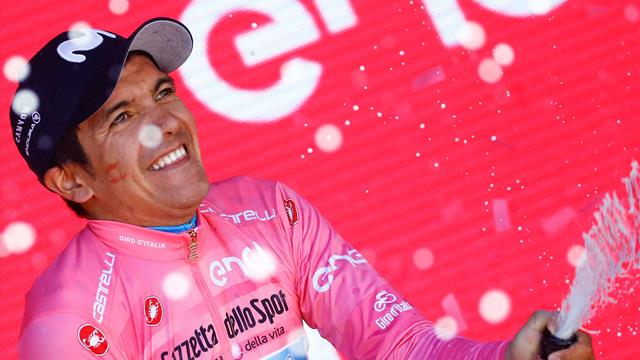 Carapaz's Vuelta in doubt after crash