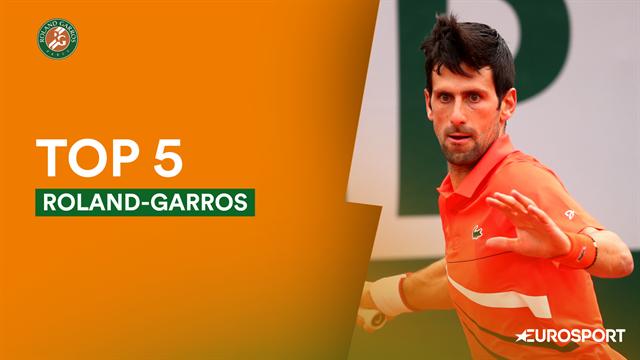 Le top 5 de samedi : le tweener de Monfils, Caruso piège Djokovic !