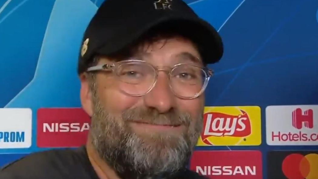 Champions League final - Liverpool manager Jurgen Klopp sings in