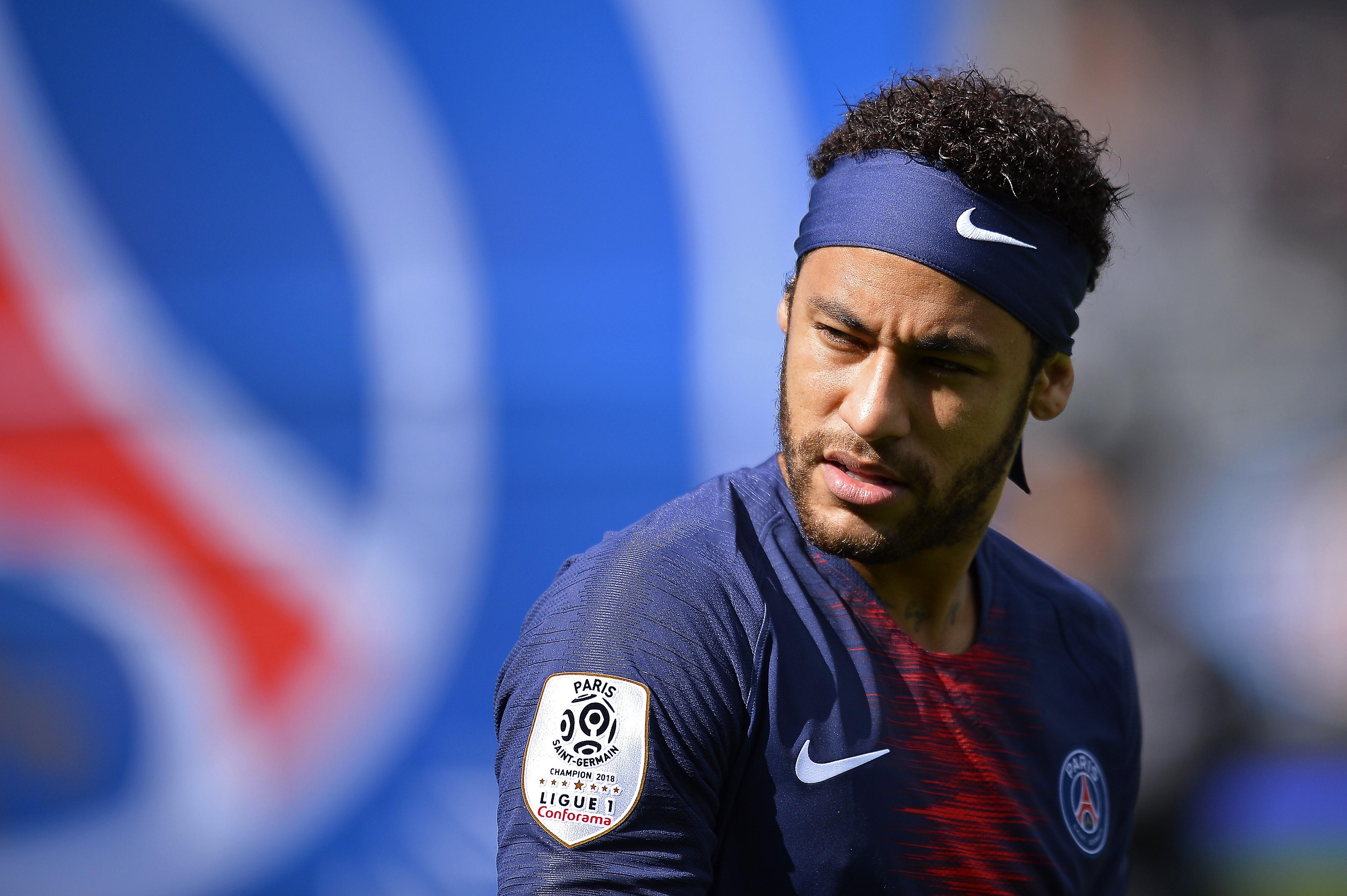 Neymar, la grande vedette du PSG.