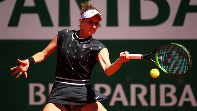 Round-up: Vondrousova routs Sevastova to reach French Open last eight