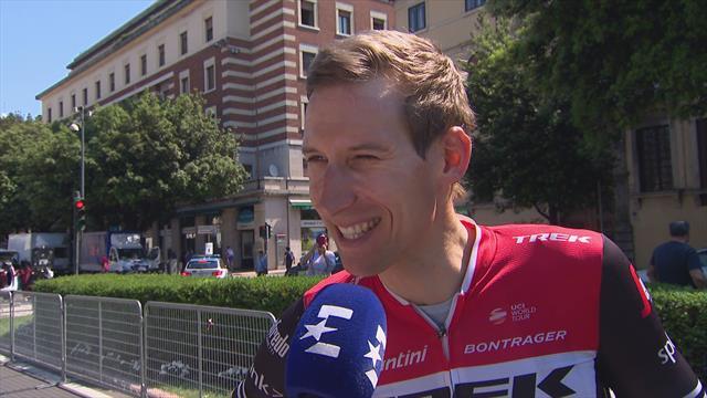 Bauke Mollema over de laaste rit van de Giro