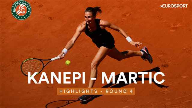 Martic - Kanepi : les temps forts