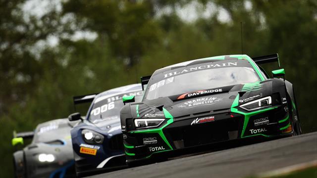 Blancpaint GT: Miguel Molina acaba en segunda posición y lidera la clasificación