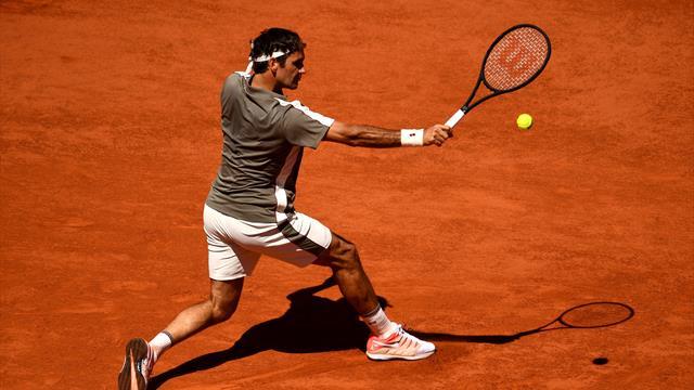 """L'œil du coach : """"Le revers chopé en retour de Federer ? Un modèle du genre"""""""