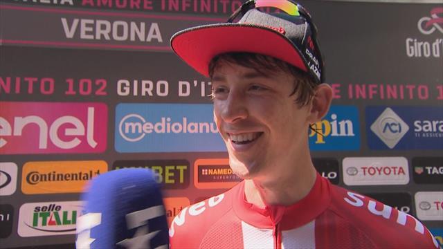 Haga explains how he mastered the Giro d'Italia ITT