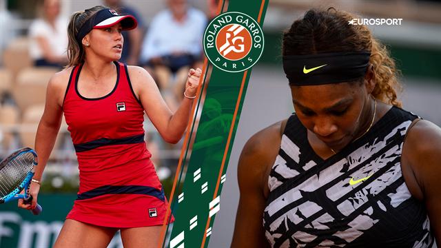 Highlights: Serena Williams tabte til Sofia Kenin i tredje runde