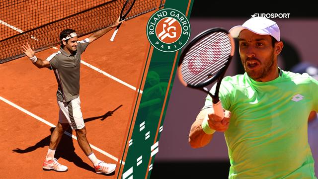 Highlights: Forrygende Federer ekspederede nemt Mayer ud af Roland Garros