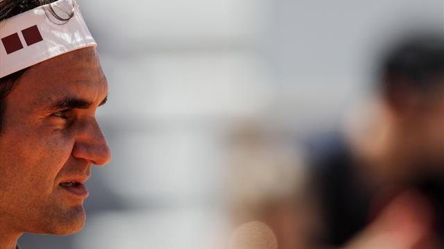"""Federer sur l'incident Thiem - Serena : """"Celui qui est toujours en course devrait avoir la priorité"""""""