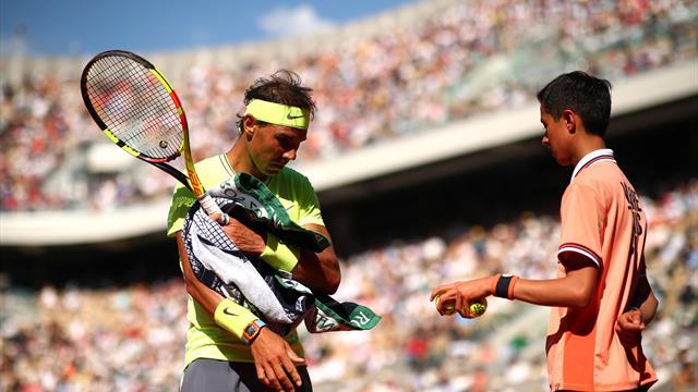 Ramasseurs de balles gantés, serviettes uniquement aux joueurs : Indian Wells face au coronavirus