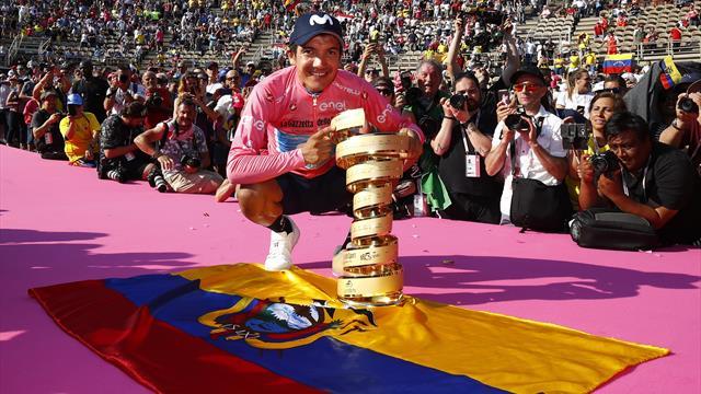 Giro-Triumph: Carapaz schreibt Geschichte
