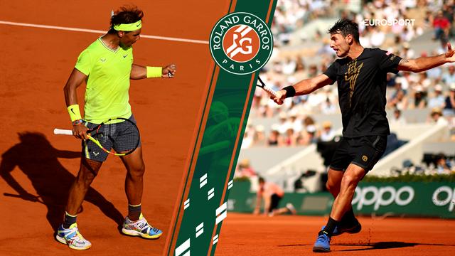 Highlights: Overlegen Nadal ekspederede Londero ud i tre sæt