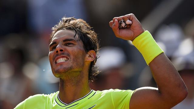 """""""Face à Nadal, on a l'impression que l'adversaire est un junior"""""""