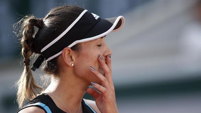 Roland-Garros 2019, Stephens-Muguruza: El sueño llega a su final (6-4 y 6-3)