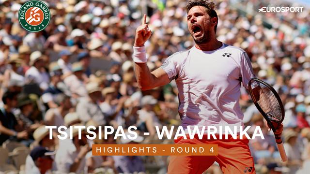 Roland-Garros 2019, Tsitsipas-Wawrinka: El suizo se lleva el partido del torneo