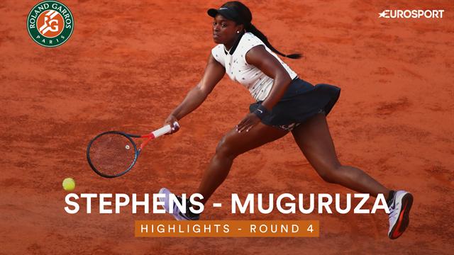 Stephens ronde verder na overwinning op Muguruza