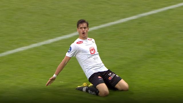 Haugen scoret to da Sogndal påførte Sandefjord sesongens første tap