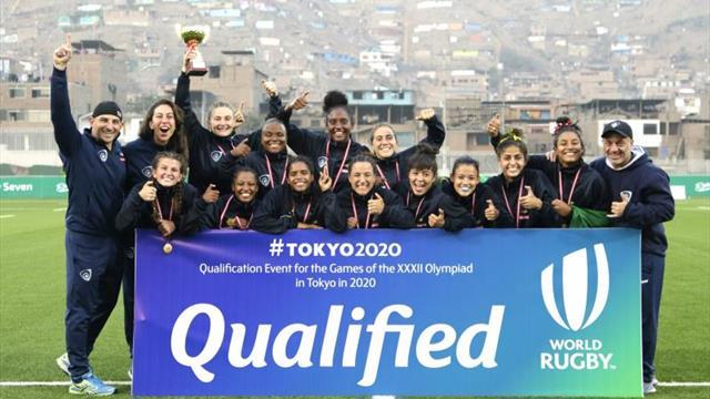 Brasil clasifica a Tokio 2020 como el gran dominador del rugby a 7 regional