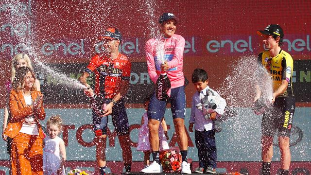 'Nibali could win another Grand Tour, Roglic won our hearts' - Wiggins reviews Giro