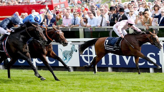 Anthony van Dyck gagne le Derby d'Epsom au terme d'une splendide lutte
