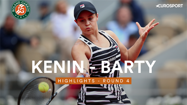 Barty in drie sets langs Kenin
