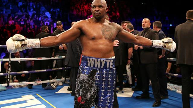 Dillian Whyte cleared by UK Anti-Doping