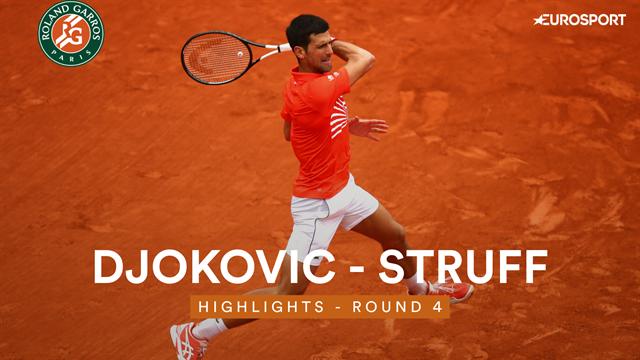 Djokovic zonder setverlies naar laatste acht