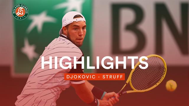 Struff ohne Chance gegen Dominator Djokovic