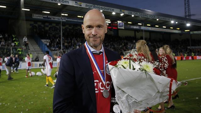 Ajax extend coach Ten Hag's contract till June 2022