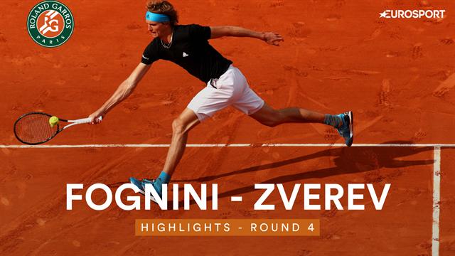 Face à l'incandescent Fognini, Zverev a gardé la tête froide pour s'éviter un nouveau marathon