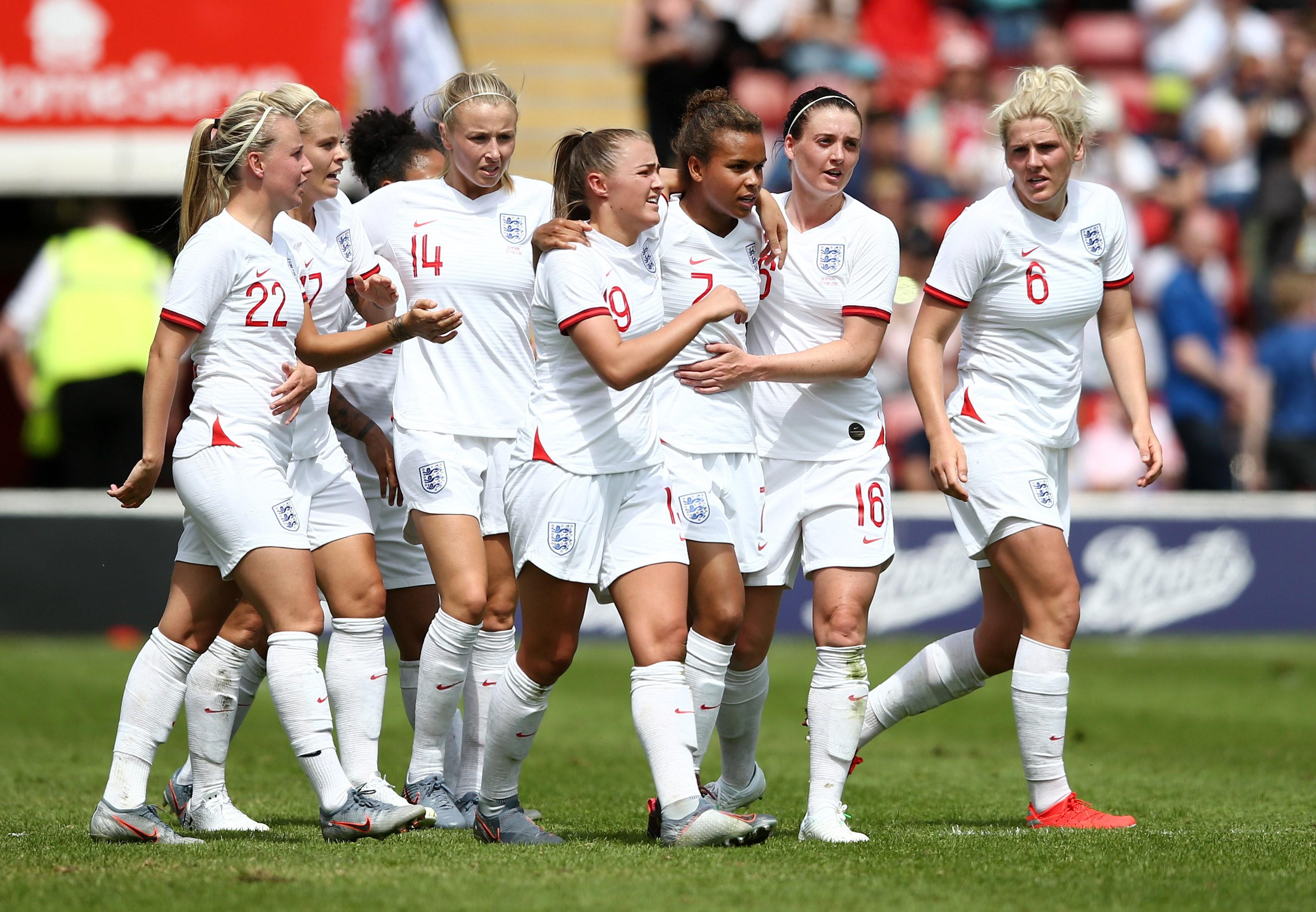 İngiltere Kadın Milil Futbol Takımı