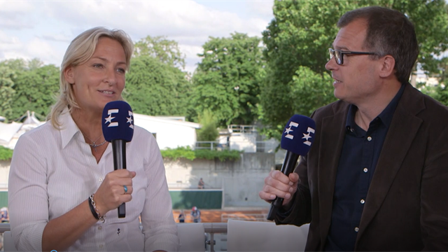 Roland-Garros i dag: – Jeg husker da jeg slo Amy Jönsson!