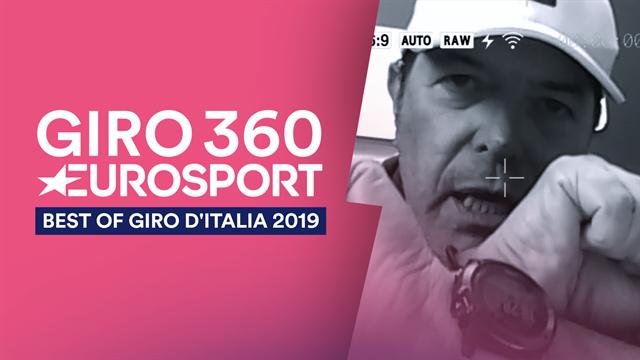 """""""Best of Giro 360"""": tra Magrini, Gregorio e fagianate, il meglio del """"Giro-Paz"""""""