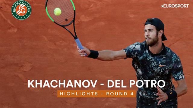 Roland Garros: Del Potro out