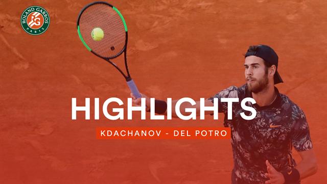 Duell der Vorhände: Das Beste aus Khachanov vs. del Potro