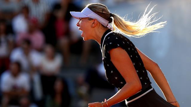 """""""Le niveau du tennis féminin continue à grimper"""""""