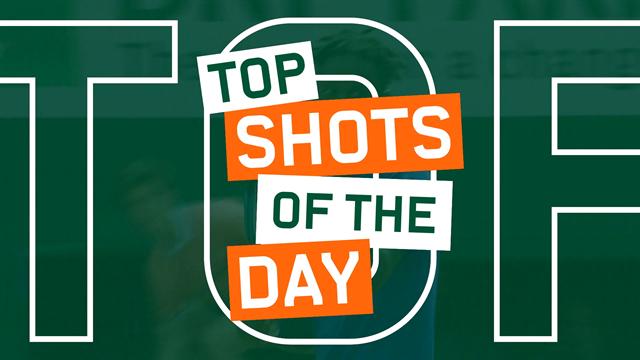 Le top 5 de lundi : les tweeners de Thiem et Djokovic, le réflexe d'Halep !