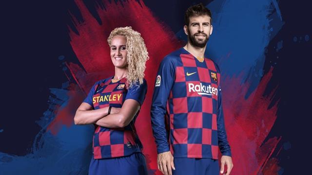 """Le nouveau maillot """"Croatie"""" du Barça officiellement présenté"""
